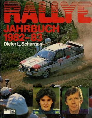 Rallye Jahrbuch 1982-83 Dieter L. Scharnagl
