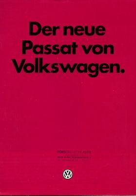 VW Passat Prospekt 1981
