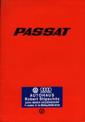 VW Passat Prospekt 1977