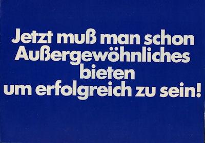 VW Programm 1978
