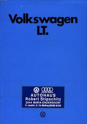 VW LT Prospekt 8.1976