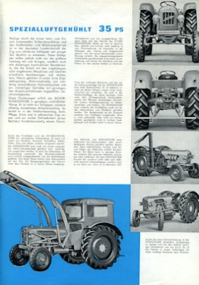Eicher 35 PS Königs-Tiger Prospekt 1962 2