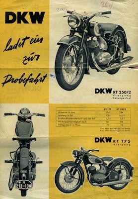 DKW Programm 3.1954