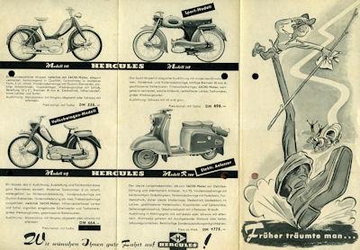 Hercules Programm 1950er Jahre