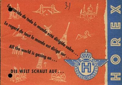 Horex Leserzuschriften Prospekt 1954