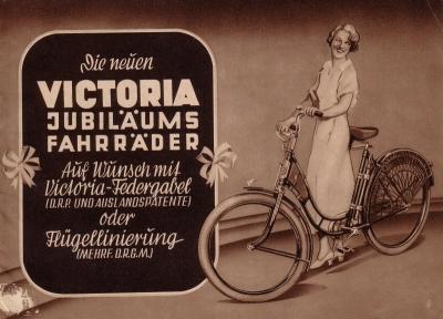 Victoria Fahrrad Programm 1937