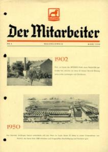 Büssing Mitarbeiter Nr. 6 März 1950
