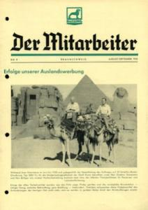 Büssing Mitarbeiter Nr. 9 Aug.-Sept. 1950