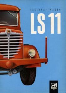 Büssing LS 11 Prospekt 9.1955