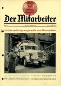 Büssing Mitarbeiter Nr. 10 Okt. 1950