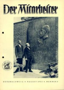 Büssing Mitarbeiter Nr. 5 Aug. 1953