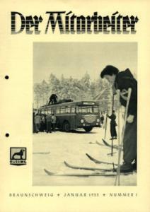 Büssing Mitarbeiter Nr. 1 Jan. 1955