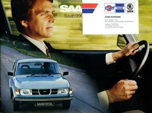 Saab 99 GL Prospekt ca. 1977