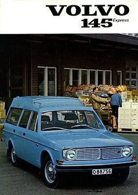 Volvo 145 Express Prospekt 1972