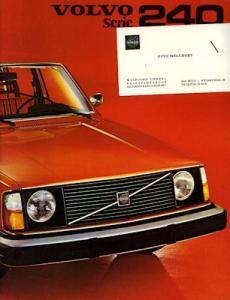 Volvo Serie 240 Prospekt 1975