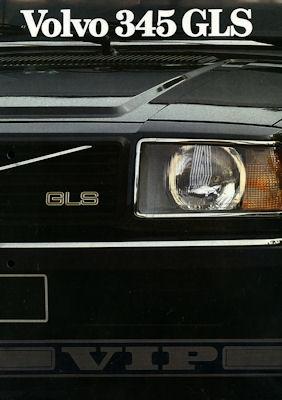 Volvo 345 GLS Prospekt ca. 1982