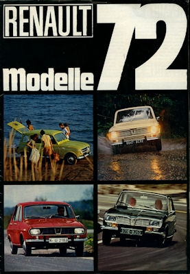 Renault Programm 1972