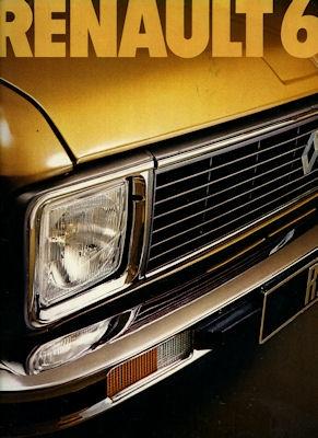 Renault 6 Prospekt 1974