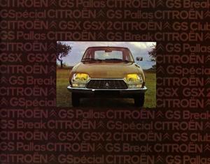 Citroen GS Prospekt 1975