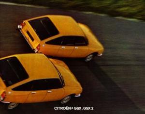 Citroen GSX GSX2 Prospekt 1975