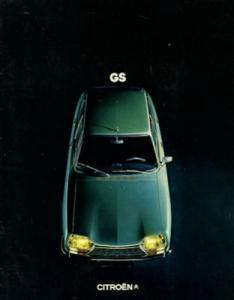 Citroen GS Prospekt 1973