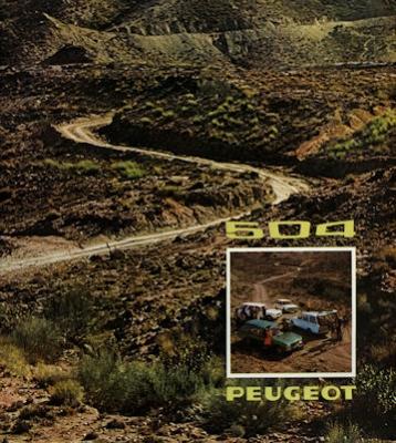 Peugeot 504 Kombi Prospekt 1974