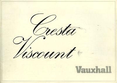 Vauxhall Cresta Prospekt 1971
