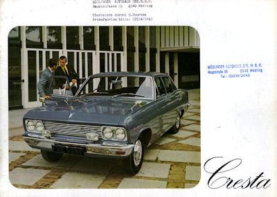 Vauxhall Cresta Prospekt 1970