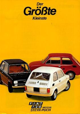 Steyr Fiat 126 Prospekt 1974