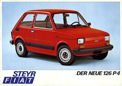 Steyr Fiat 126 Prospekt 1977
