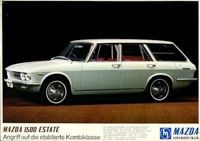 Mazda 1500 Estate Prospekt ca. 1970