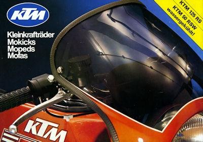 KTM Programm ca. 1978