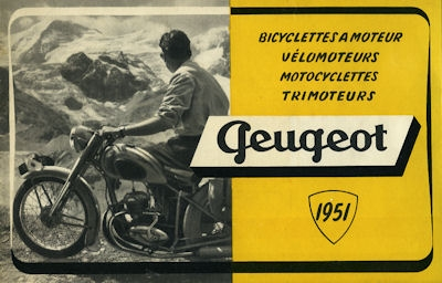 Peugeot Programm 1951