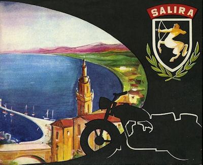 Salira Motorrad Programm 1950er Jahre