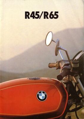 BMW R 45 / R 65 Prospekt 1.1978