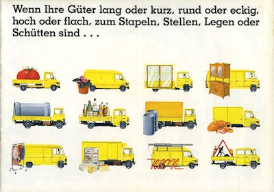 Mercedes-Benz Programm 1982