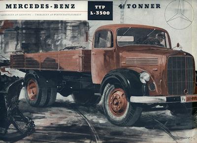 Mercedes-Benz L-3500 Prospekt 1952
