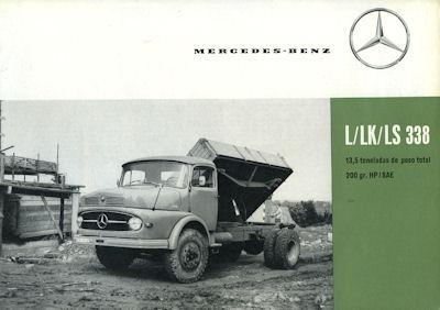Mercedes-Benz L LK LS 338 Prospekt 1962 sp