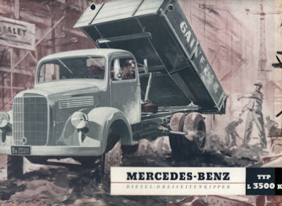 Mercedes-Benz L 3500 K Prospekt 1953