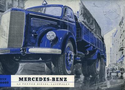 Mercedes-Benz L 6600 Prospekt 1952