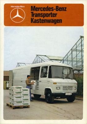 Mercedes-Benz Transporter Prospekt 1979