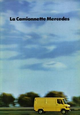 Mercedes-Benz Transporter Prospekt 1981 f