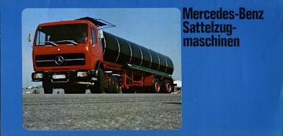 Mercedes-Benz Sattelzugmaschinen Prospekt 1978
