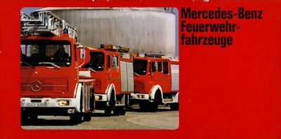 Mercedes-Benz Feuerwehrfahrzeuge Programm 1979