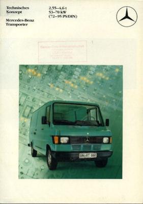 Mercedes-Benz Transporter Prospekt 8.1982