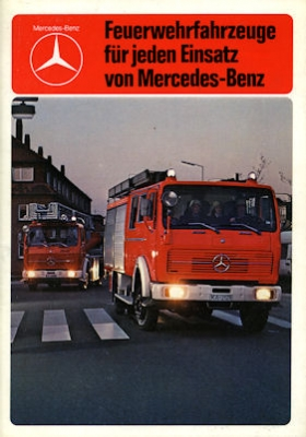 Mercedes-Benz Feuerwehrfahrzeuge Programm 1982