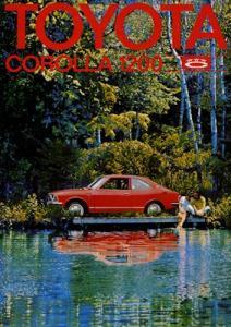 Toyota Corolla 1200 Prospekt 1972