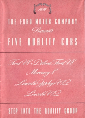 Ford US-Programm 1939 e