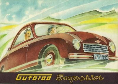 Gutbrod Superior Prospekt 1950er Jahre