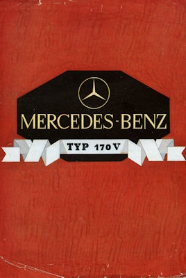 Mercedes-Benz Typ 170 V Prospekt 6.1936